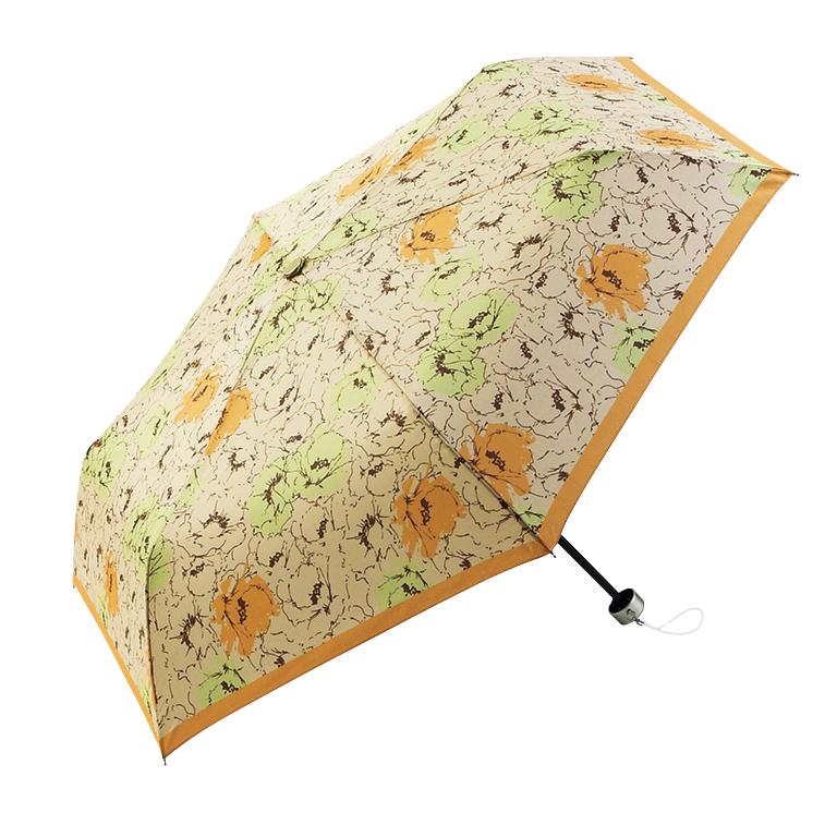 ニュアンスフラワー・晴雨兼用折りたたみ傘