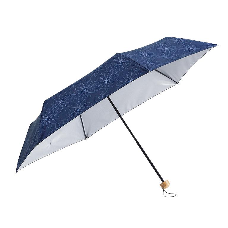 フラワーライン・晴雨兼用折りたたみ傘