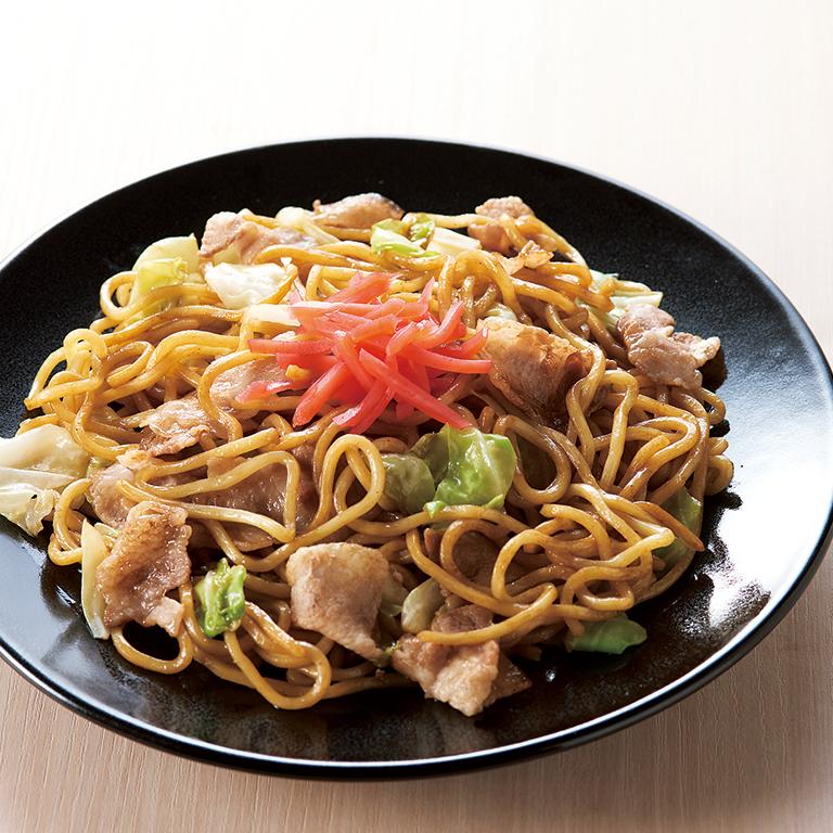 もっちり太麺焼そば食べ比べ4食入