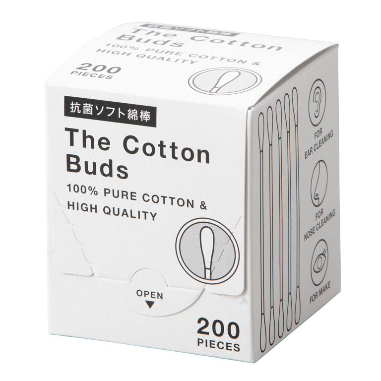 抗菌ソフト綿棒200本入