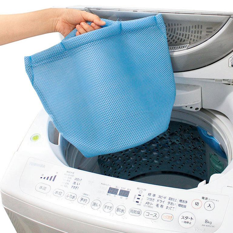 そのまま洗濯できるランドリーバッグ