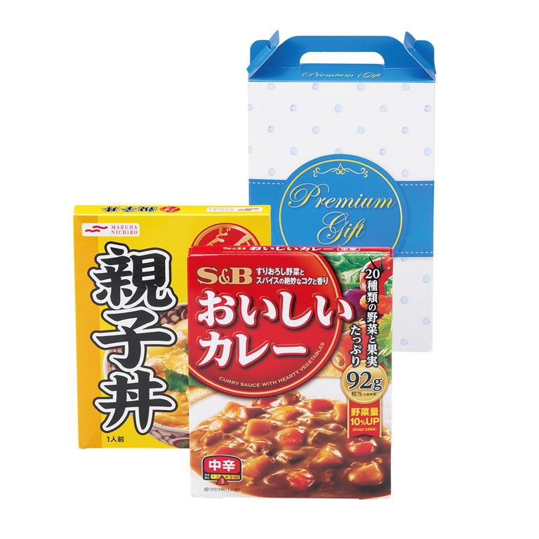 カレー&親子丼セット
