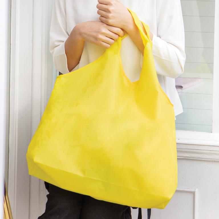 【選べる6色】カラモ たためるビッグエコバッグ