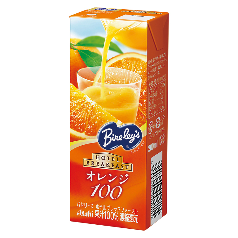 バヤリース果汁100%ジュース