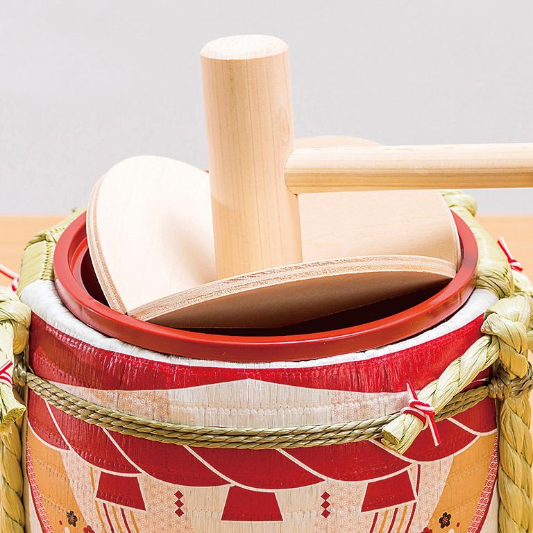 ミニ鏡開きセット〜日本の四季〜正月『元旦』