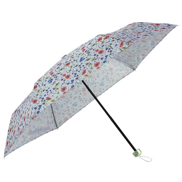 ボタニカルフラワー・晴雨兼用折りたたみ傘