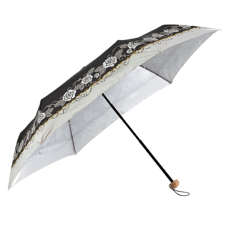 【完売】ブランローズ・晴雨兼用折りたたみ傘