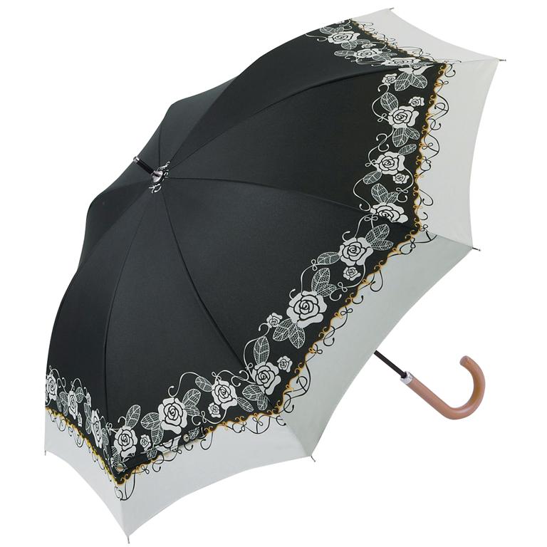 【完売】ブランローズ・晴雨兼用長傘