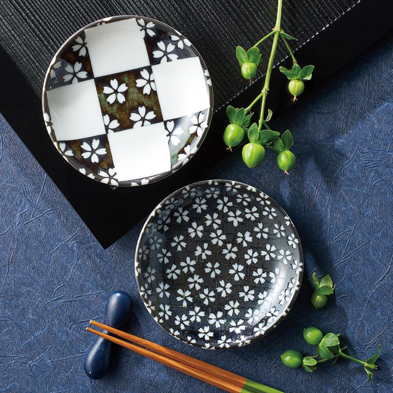 美濃焼の極み 豆皿2枚組