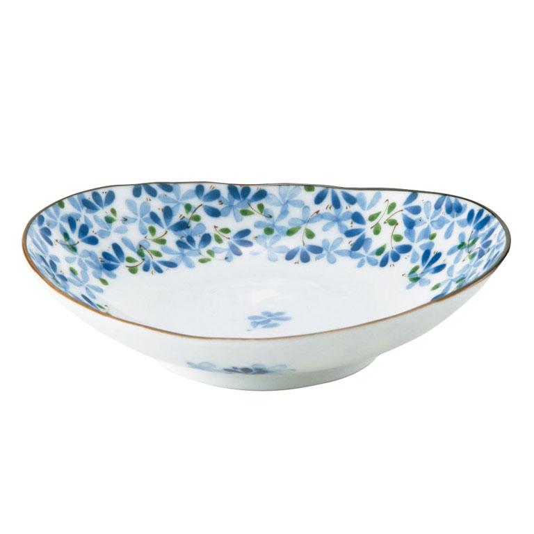 めばえ・楕円皿