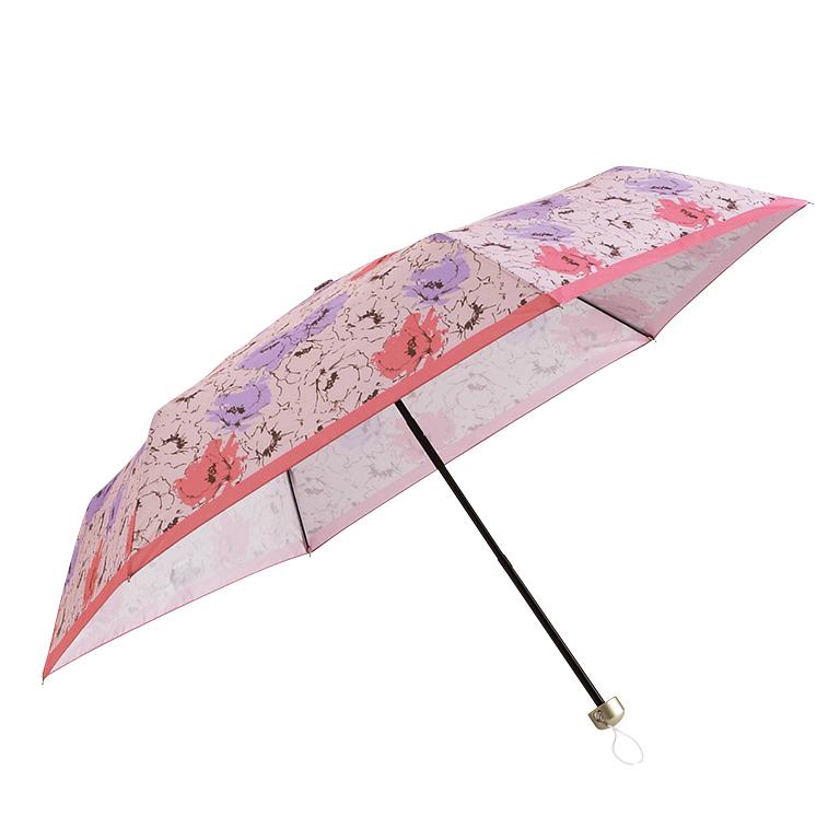 ニュアンスフラワー・晴雨兼用コンパクトアンブレラ