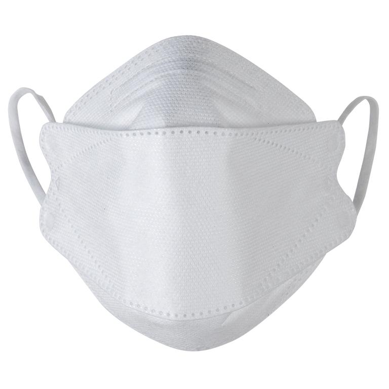 4層構造不織布立体マスク(ホワイト)30枚入